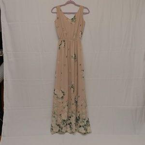 Show Me Your Mumu Kendall Maxi Dress Bouquet Toss